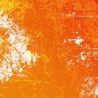 Oranje grungeachtergrond