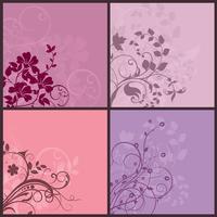 Floral achtergronden vector