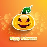 Halloween pompoen achtergrond