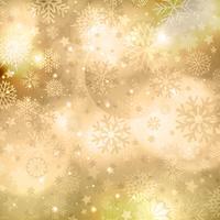 Gouden Kerstmis achtergrond vector