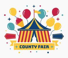 county eerlijke vector