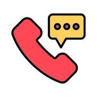 contact vector pictogram
