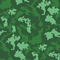 militaire camouflage textuur kaki print achtergrond - vector