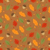 Herfst patroon vector