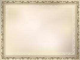 Decoratieve vintage achtergrond vector