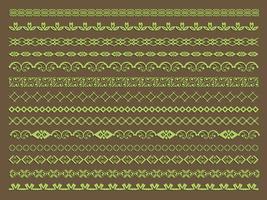 Decoratieve randen vector