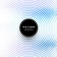 Moderne blauwe cirkels Golf achtergrond vector