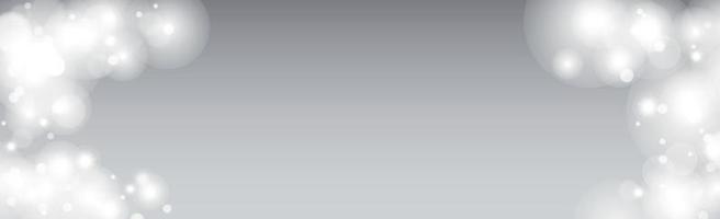 veelkleurige wazig bokeh op een lichte achtergrond vector