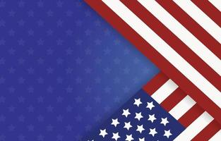Amerikaanse vlag achtergrond vector