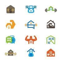 trainen in het comfort van uw eigen huis vector