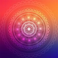 Abstracte kleurrijke mandala achtergrond vector