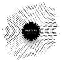 Abstracte halftone patroonachtergrond vector