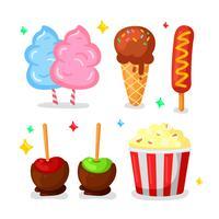 Eerlijke voedsel illustratie vector