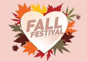 Fall Festival achtergrond Vector