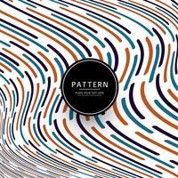 Moderne kleurrijke lijnen patroon achtergrond