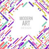 Abstracte elegante kleurrijke lijnen achtergrond