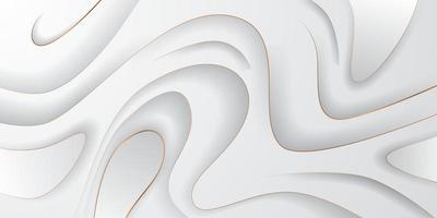 golf decoratie zachte koninklijke glamour luxe elegante witte achtergrond voor cover banner concept met snijden vector