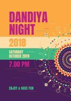 Dandiya nacht vector