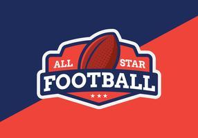 All Star voetbal embleem
