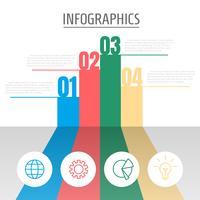 Infographic grafiek vector