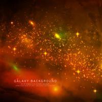 Abstarct magische melkwegachtergrond vector