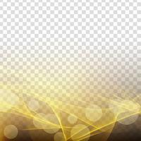 Abstracte gloeiende golf transparante elegante achtergrond vector