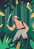 jungle ontdekkingsreizigers