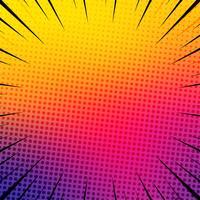 Mooie kleurrijke grappige boekillustratie als achtergrond vector