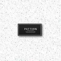 Mooie kleurrijke het patroonvector van het puntenpatroon vector