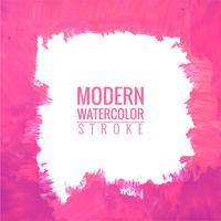 Moderne heldere de textuurachtergrond van het waterverfkader vector