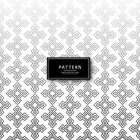 Abstract creatief naadloos patroonontwerp