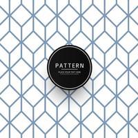 Naadloos abstract geometrisch patroonontwerp vector