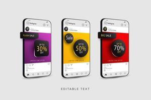sjabloon voor spandoek voor online winkelen promotie vector