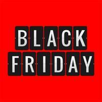 moderne zwarte vrijdag verkoop achtergrond vector