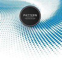 Abstracte blauwe halftone patroonachtergrond vector