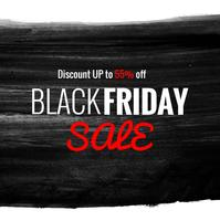 moderne zwarte vrijdag verkoop achtergrond