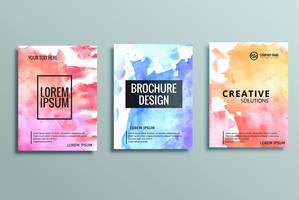 moderne zakelijke brochure set
