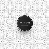 Abstract naadloos geometrisch patroonontwerp