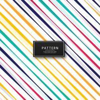 Mooie kleurrijke lijnen patroon vector achtergrond