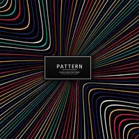 Het moderne kleurrijke creatieve ontwerp van het lijnenpatroon vector