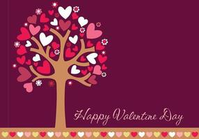 Happy Valentine's Day Wallpaper en Border Vector Pack