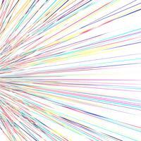 Moderne kleurrijke stralenvector als achtergrond