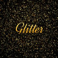 Abstract goud glitters glanzende achtergrond vector