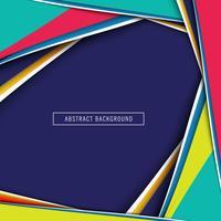 Elegante kleurrijke papier gesneden achtergrond vector
