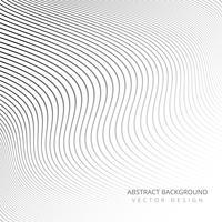 Abstracte stijlvolle elegante lijnen achtergrond vector