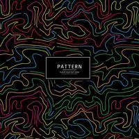 Abstracte kleurrijke lijnen patroon achtergrond vector