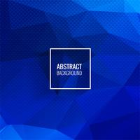 Abstracte blauwe veelhoek geometrische achtergrond