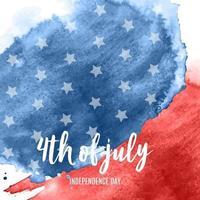 4 juli onafhankelijkheidsdag op de achtergrond van de VS. kan worden gebruikt als spandoek of poster. vector