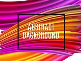 abstracte spectrum penseelstreken. getextureerde kunst frame achtergrond vector