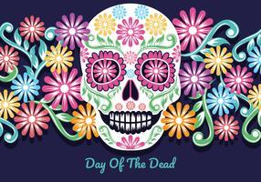 Dag Van De Dode Illustratie